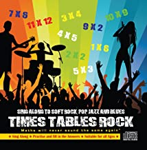 times tables rock audio cd