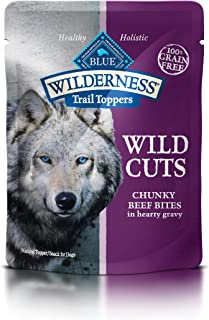 Blue Buffalo Wilderness Trail Toppers Wild Cuts High Protein Grain Free, Natural Wet Dog Food