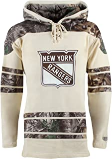 Old Time Hockey NHL Men's Realtree Lacer Name & Number Hoodie