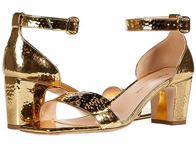 Rupert Sanderson Melissa 60 Hammered Mirror (Gold) Women