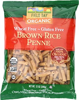 Field Day Pasta Organic Brown Rice Penne, 12 Count