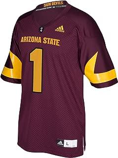adidas Adult Men NCAA Premier Football Jersey, X-Large, Maroon, Arizona State Sun Devils