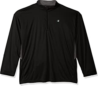 Champion Men's Big and Tall 1/4 Zip Pullover with Lc c