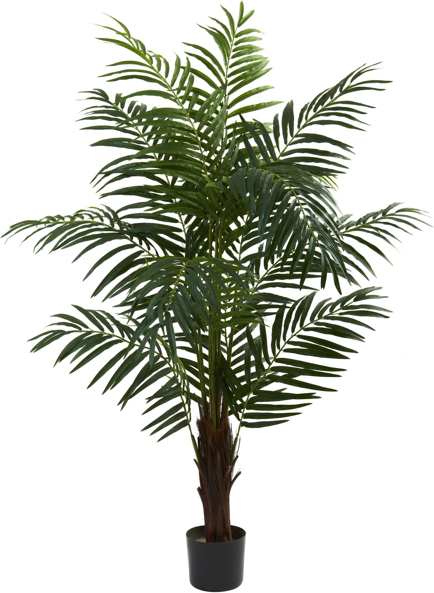 Nearly Natural 5416 5ft Areca Palm Tree Green 42 X 11 X 11 Home Kitchen Amazon Com
