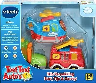 VTech - Toet Toet Auto's Trio Verpakking - Bart, Tijn & Harvey - Multikleuren - Voor Jongens en Meisjes - Van 1 tot 5 jaar...