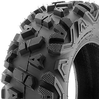 SunF ATV UTV A/T 25x11-12 All Trail 6 PR Tubeless Replacement Tire A033 POWER I, [Single]