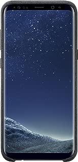 Samsung EF-XG955ASEGWW Original Alcantara Case for Galaxy S8 Plus - Black,EF-XG955ASEG