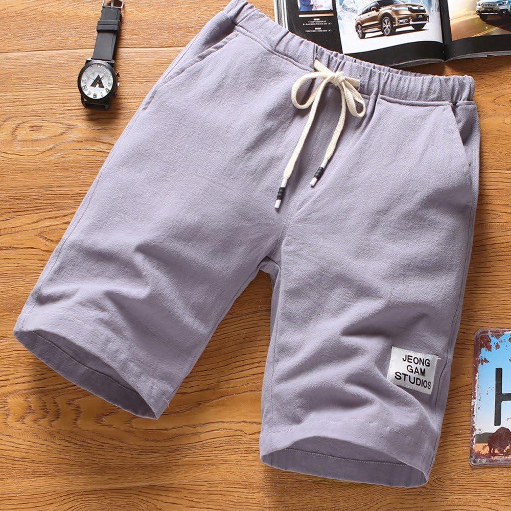 Kword Pantaloni Casual Boxer Shorts da Bagno Pantaloncini da Bagno Pantaloni Corto da Spiaggia da Uomo Sport Pantaloni Traspirante di Estate Pantaloni da Running Fitness