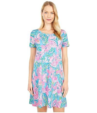 Lilly Pulitzer Cody Dress (Blue Ibiza Gimme The Juice) Women