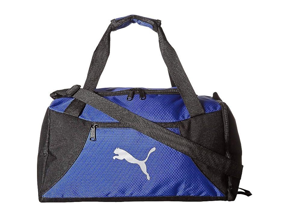PUMA Transition Duffel (Blue/Black) Duffel Bags