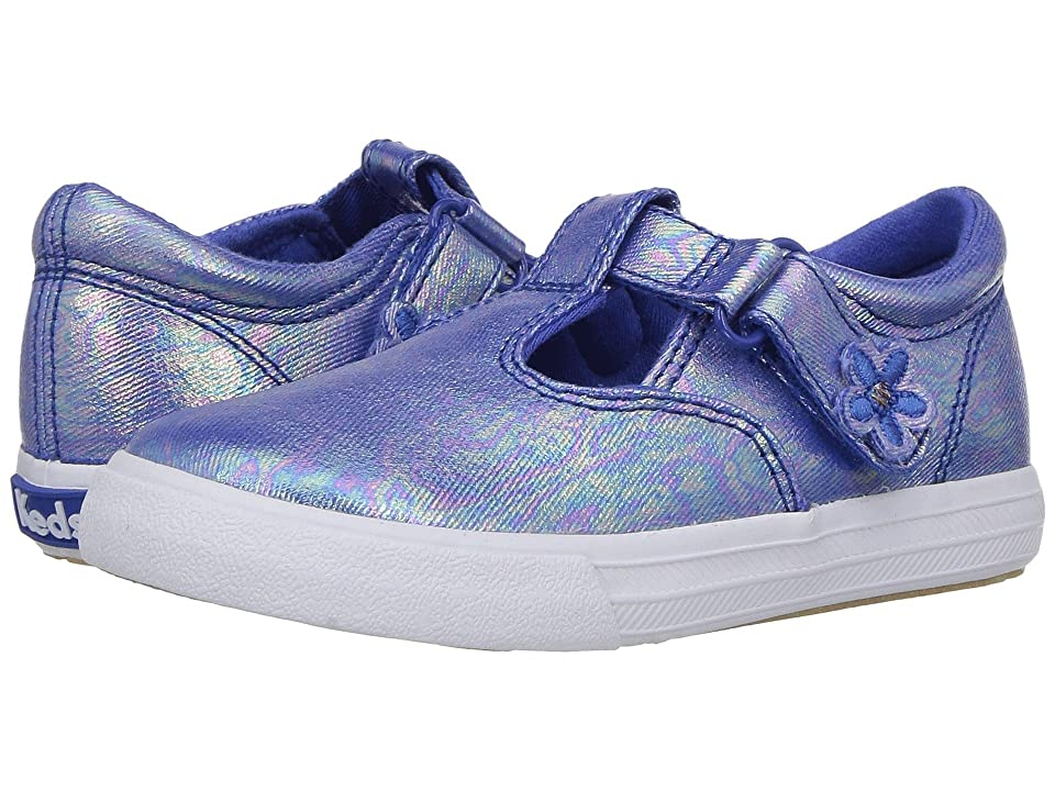 Keds Kids Daphne (Toddler/Little Kid) (Blue Iridescent) Girl
