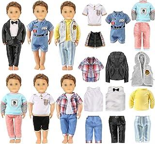 لباس عروسکی AISYAH برای لباس عروسک های 18 اینچ آمریکایی - ست لوازم جانبی لباس عروسک لوگان