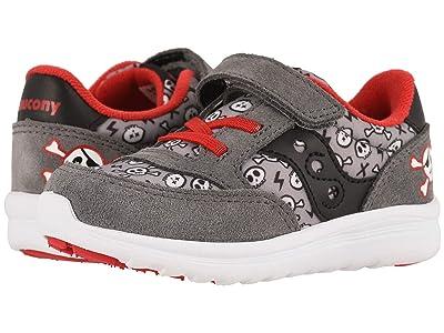 Saucony Kids Originals Jazz Lite (Toddler/Little Kid) (Grey/Red Pirate) Kids Shoes