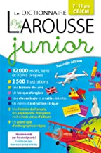 Dictionnaire Larousse Junior: 7/11 Ans, Ce/Cm Edn. 2018 (French Edition) (Dictionnaires pédagogiques)