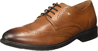Hush Puppies Men's Zampa Crust Leather Formal Shoes