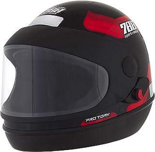 Pro Tork Capacete Sport Moto 788 58 Preto/Vermelho