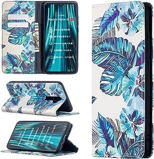 Magnetiskt färgglatt plånboksfodral för Xiaomi Redmi Note 8 Pro flipfodral Recessiv magnetism PU-läder mönster design plån...