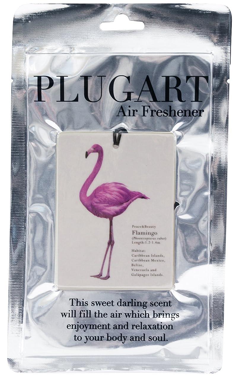 オフセット優雅な所属ノルコーポレーション エアーフレッシュナー 吊り下げ プラグアート 消臭 アンバーフローラルの香り PLA-1-2