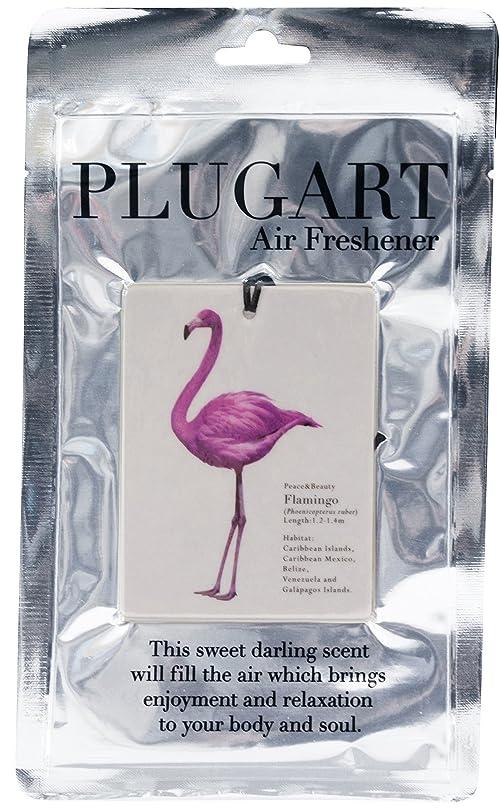 軽食腫瘍暴露するノルコーポレーション エアーフレッシュナー 吊り下げ プラグアート 消臭 アンバーフローラルの香り PLA-1-2