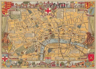 london wrapping paper