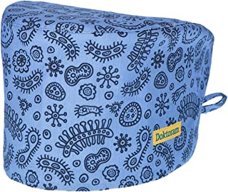 DOKTORAM Working Caps with Sweatband Adjustable Hats Head Cover - Women or Men Gourd-Shaped Unisex Skull Cap