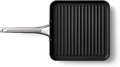 Calphalon Premier Hard-Anodized Nonstick 11-Inch Square Grill Pan, 11 Inch, Black