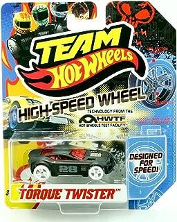 TORQUE TWISTER HIGH-SPEED WHEELS Team Hot Wheels 2011 Designed For Speed Vehicle (X0142)