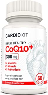 Heart Healthy CoQ10 | Advanced Supplement with 12 Additional Heart-Healthy Vitamins, Minerals & Antioxidants | Developed b...