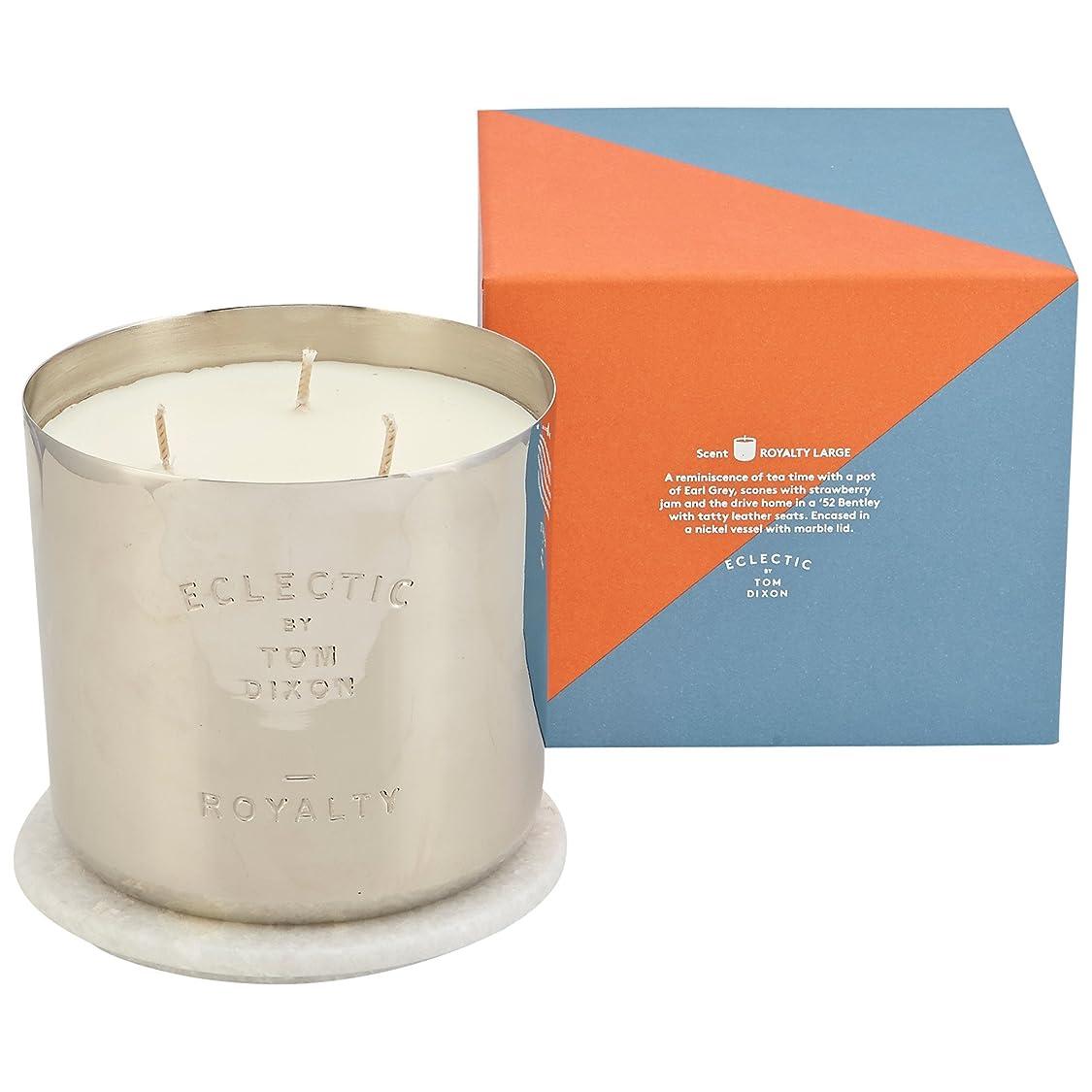 和らげる民間メロドラマトムディクソンロイヤリティ大きな香りのキャンドル x6 - Tom Dixon Royalty Scented Candle Large (Pack of 6) [並行輸入品]