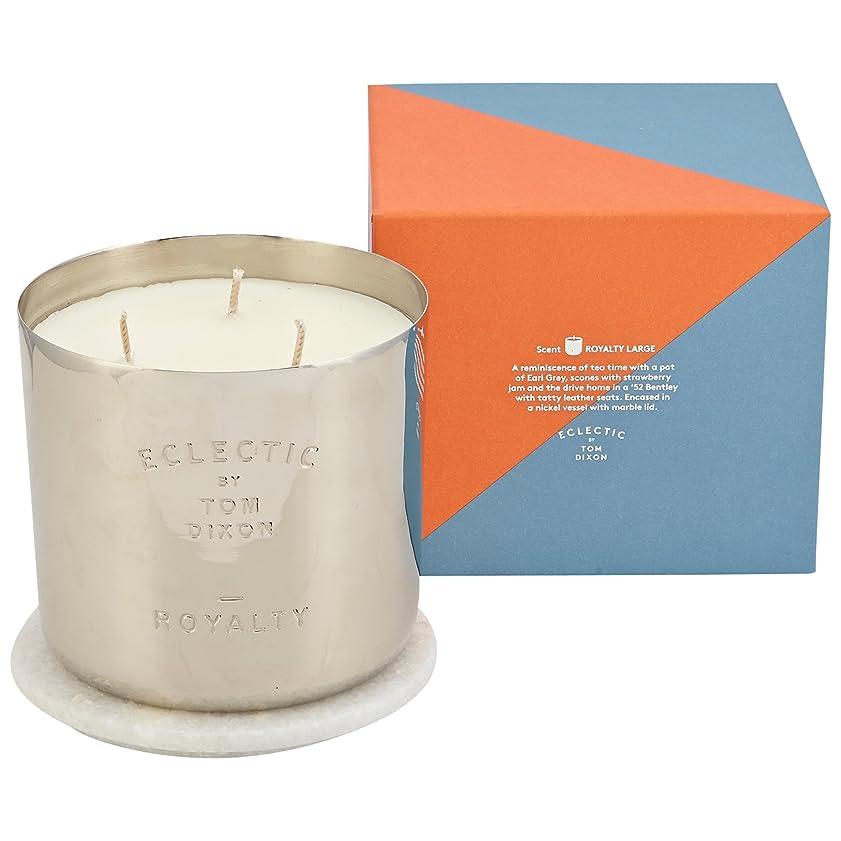 上陸尊敬城Tom Dixon Royalty Scented Candle Large - トムディクソンロイヤリティ大きな香りのキャンドル [並行輸入品]