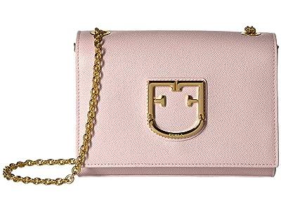 Furla Viva Mini Pochette (Camelia) Cross Body Handbags