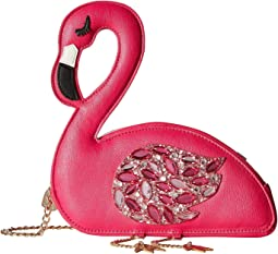 Betsey Johnson - Flamingoals Crossbody