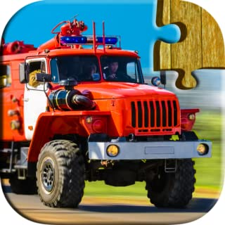 Cars, trucks, & trains jigsaw puzzles for kids and adults - a relaxing and fun puzzle game (Free trial edition)