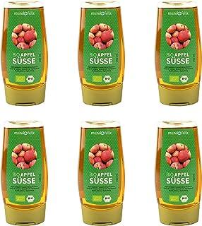 Mundo Feliz, dolcificante di mele biologico, 250 ml, confezione da 6