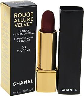 Chanel Rouge Allure Luminous Matte Velvet Lipstick - 58 Rouge Vie, 3.5 g