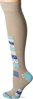 Eurosocks Women Ski Socks, Gradual Compression, Stimulate Blood Flow, Boosts Performance Ultra Stretch - 0917W