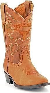 Childrens Boys Girls Gameday Kids University Of Texas UT Longhorns Cowboy Boots