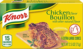 Knorr Cube Bouillon, Chicken, 2.5 Ounce, 6 Cubes