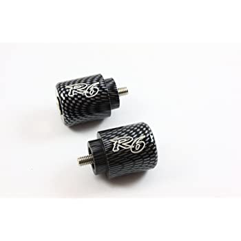 Carbon look barends bar ends YAMAHA YZF R1 R6 R7 #BE076#