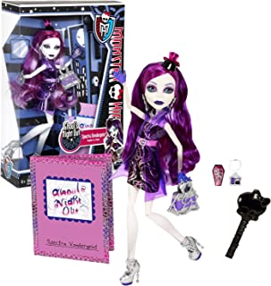 Monster High Mattel Year 2012 Ghoul's Night Out Series 11 Inch Doll Set - Spectra VONDERGEIST Daughter of a Ghost with Sma...