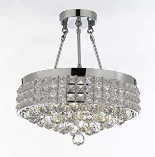 Best rectangular semi flush mount lighting Reviews