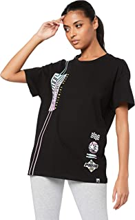PUMA Women's Graphics Elongated TB TEE