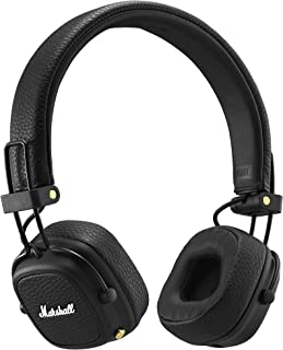 Marshall Major III Bluetooth Wireless On-Ear Headphones, Black - New