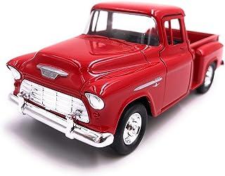 H Customs Stepside Truck Modellauto Auto Lizenzprodukt 1:34 1:39 Rot