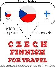 Czech - Finnish. For travel: I listen, I repeat, I speak