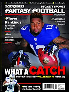 CBS Sports 2015 Fantasy Football Draft Guide - Fall Edition Odell Beckham Jr