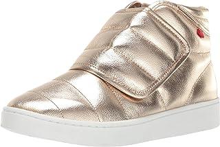 MARC JOSEPH NEW YORK Kids Boys/Girls Leather Made in Brazil Hightop Velcro Sneaker