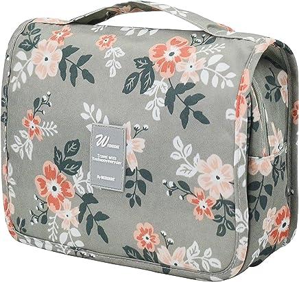Adigow Hanging Toiletry Bag - Portable Waterproof Cosmetic Makeup Wash Bag  for Men   Women - 5b1914eec4a31