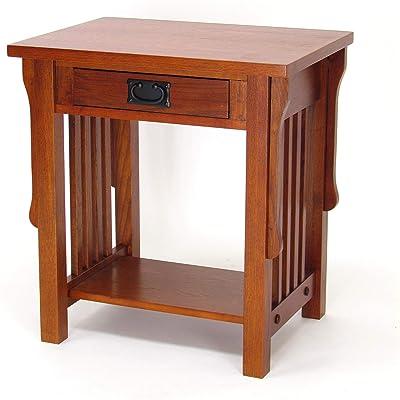 Bamboo Clip-On Bedside Shelf Ergonomic Space Saver Frame Side Table M/&W
