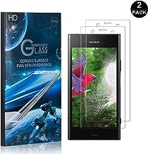 Sony Xperia XZ1 Screen Protector Tempered Glass, Bear Village® Perfect Fit & Anti Fingerprint HD Screen Protector Film for Sony Xperia XZ1-2 Pack
